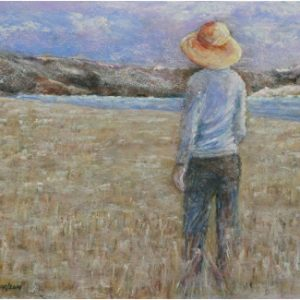 Wishing Field - Painting by Norman Enzor
